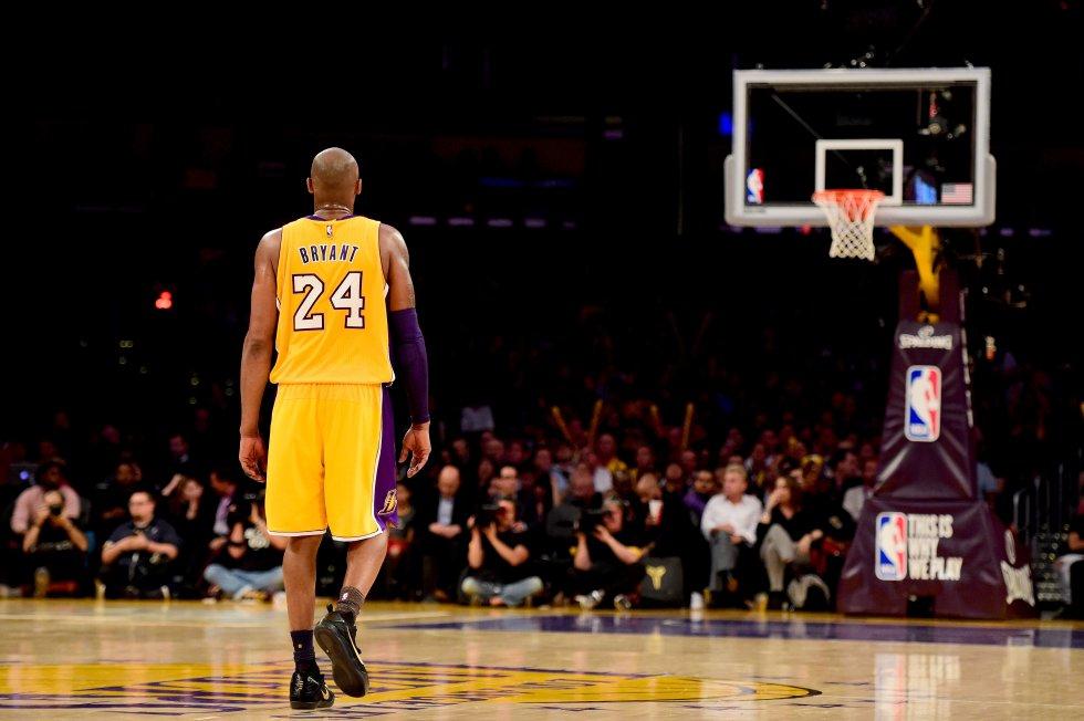 Kobe Bryant, ídolo de una generación